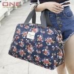 новинка женщин дорожные сумки багаж сумки цветочный принт женщины дорожные сумки большой емкости PT558