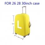 Водонепроницаемый живопись багаж пыль, Эластичный чемодан обложки применить к 18 - 30 дюймов чехол камера аксессуары