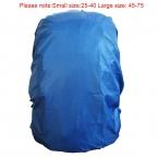 1 шт. 25 - 75 водонепроницаемый дождь для путешествия отдых пешие прогулки открытый велоспорт школы рюкзак камера сумка пыль дождевик 6 цветов