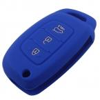 Автомобиль силиконовые откидная крышка ключ чехол для Hyundai i10 i20 i30 IX25 IX35 IX45 Elantra акцент стайлинга автомобилей