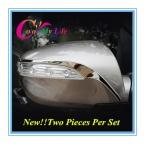 Стайлинга автомобилей из нержавеющей стали зеркало заднего вида полосы боковое зеркало украшения накладка для HYUNDAI ix35 IX 35 2011