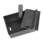 Для hyundai IX35 центральный подлокотник чемодан ящик для хранения вагонкой для IX35 автоаксессуары, Стайлинга автомобилей