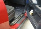 Для Hyundai ix35 2010 2011   внутри дверные пороги накладка пороги площадку протектора добро пожаловать педаль