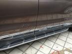 Abs пластик хромированный боковой молдинг обшивка багажника на  до Hyundai Santa fe IX45