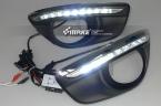 Hyundai santa fe 2010 - из светодиодов drl дневного бег лёгкие с функцией переключения и беспроводная управление