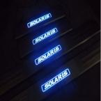 стайлинга автомобилей hyundai solaris 2011 порога с из светодиодов полосы приветствуется педали автоаксессуары 4 шт. NO : S-LED