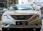 Высокое качество новый алюминиевый сплав передней нижней гонки решетка решетки крышка накладка для Hyundai Sonata