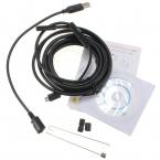 Лучшая цена высокое качество 3.5 м 7 мм USB эндоскоп жк-ip67 водонепроницаемый 6 из светодиодов инспекционной бороскоп труба змея камеры для Android PC
