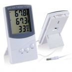 Azerin высокое качество цифровой жк-крытый / открытый термометр гигрометр температуры и влажности бесплатная доставка