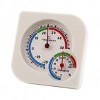 Механический Гигрометр Крытый и Открытый Мини Мокрый Гигрометр Влажность Термометр Температуры Измерения Метр с Blacket Белый