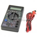 мини цифровой мультиметр с зуммер напряжение ампер пробник DC AC жк-пульт