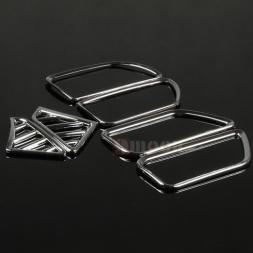 6 шт./компл. ABS Chrome Автомобилей Air Vent обложка отделка Украшения рамка Для KIA RIO K2 2011-, автомобиль аксессуары