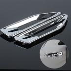 Хром стайлинг ABS боковые украшения накладка для KIA RIO к2 2011    автоаксессуары 2 шт./компл.