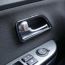 Abs хромированной отделкой крышки ручки двери внутренняя отделка кольцо наклейку автоаксессуары для Kia RIO K2 2011