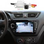 Quad core Android 4.4 игрок Автомобиля dvd gps для Kia rio k2 2010 2011  в dash 2 din автомобильный радиоприемник видеоплеер k2 rio dvd