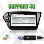 4 Г wi-fi 9 дюймов Kia k2 РИО 2010 2011  quad core android 4.4 dvd-плеер автомобиля 16 ГБ iNand flash dvd авто gps пк автомобиля емкостный