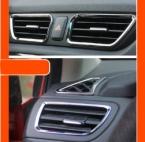 6 шт./компл. кондиционер выход хромированной отделкой автоаксессуары автоаксессуары для KIA K2 рио 2011