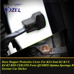 Двери автомобиля пробка защитная крышка дверь наклейки для KIA Soul K2 K3 S K4 K5 рио CERATO форте QUORIS оптима R Sorento
