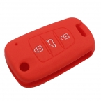 6 цвет силиконовые флип складной ключ чехол обложка держатель защита сумка для Kia K2 K5 Sorento душа Pro Ceed Cerato 3 кнопки