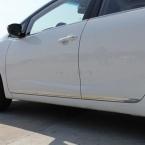 Для Kia Cerato к3 форте    нержавеющая сталь боковая дверь кузова под давлением стримерные дверь кузова литье полоса накладка