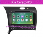 dvd-gps на Kia Cerato / K3  встроенный GPS навигация, Bluetooth, Радио, Ipod, Тв, Usb, Sd   россии Languag
