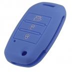 Автомобиль силиконовые флип складной ключ чехол для KIA Rio Sportage  Ceed Sorento Cerato K2 K3 K4 K5 ключевой комплект покрыть дистанционного