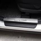 Для Kia Sorento   из нержавеющей стали на накладка пороги площадку протектора пластины запись охранник добро пожаловать педаль протектор