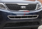 ABS пластик переднего под центр решетка обрезать для Kia Sorento