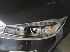 6 шт. хромированная передняя фара крышка лампы отделки гарнир к Kia Sorento   автомобилей аксессуары укладка