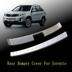 2 шт. заднего бампера защитник шаг порога пластины отделка багажника автоаксессуары , пригодный для   KIA SORENTO