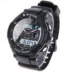 Прямая поставка спортивные мужские часы люксовый бренд из светодиодов электронные цифровые часы 5ATM водонепроницаемые мужчин наручные часы спортивные часы