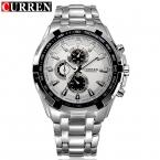 Горячая распродажа CURREN мужчины часы лучший бренд класса люкс мужчины военный наручные часы полный стали мужчины спортивные часы водонепроницаемый Relogio Masculino