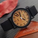 Моделирование Деревянный Relojes Кварцевые Мужские Часы Повседневная Деревянный Цвет Кожаный Ремешок Часы Древесины Мужчины Наручные Часы Relogio мужской