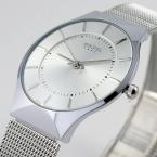 Мода топ люксовый бренд юлий часы мужчины сетка из нержавеющей стали ремешок кварц - часы ультратонкий циферблат часов мужчина relogio masculino