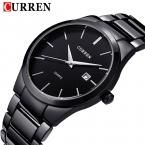 новая мода Curren марка дизайн бизнес календарь мужчины мужской часы повседневная нержавеющей стали наручные кварцевые часы подарок 8106