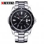 New curren часы мужчин лучший бренд мода часы кварцевые часы relogio masculino армии спортивные аналоговый свободного покроя 8110