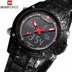 Спортивные мужские кварцевые наручные часы NAVIFORCE календарная военные часы для мужчин часы полный стали мужские часы Relogio masculino Reloj хомбре