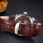 Montre Homme  Роскошный Мужские Часы Супер Мягкий Кожаный Часы мужчины Дата День Календарь Водонепроницаемый Кварцевые Наручные Часы Для Мужчин 0287