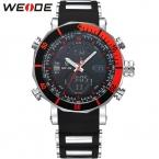 Вайде верхней часовой бренд мужчины спортивной серии роскошный логотип многофункциональный кварцевый электронные сигнализация секундомер большие часы для человека