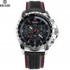 Megir горячая распродажа Кварцевые часы мужские кожа ремешок для часов часы мужские спортивные горячая военные часы распродажа Мужские часы лучший бренд роскошь