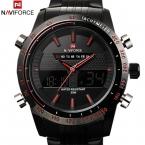 спортивные часы мужчины люксовый бренд мужской часы аналоговые из светодиодов цифровые часы для парни весь стали мужские кварцевые военные наручные часы