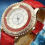 Кварцевые часы женщины Gogoey марка роскошные кожаные изделия дамы популярные свободного покроя мода золотые часы relogios femininos reloj mujer