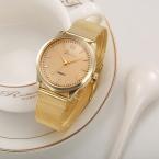 Смотреть Женщина Fashion Женева Смотреть Женщины Классические Золотые Кварцевые Из Нержавеющей Стали Наручные Часы Montre Femme Relojes Mujer  Relogio