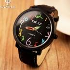 Yazole наручных часов женские часы  известный бренд женской часы кварцевые часы женские кварцевые - часы Montre роковой Relogio Feminino