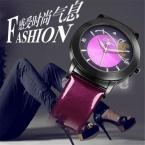 Relojes Mujer  Мода Часы Женщины ИСКУССТВЕННАЯ кожа ремешок Кварцевые Часы relogio feminino Марка женщины платье часы часы