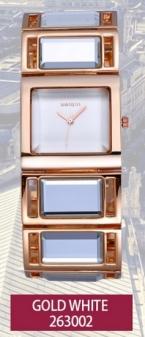 WEIQIN Роскошный Hardlex Золото Зеркало Ремень женские Часы Браслет Красочный Площади Shell Циферблат Часовой Моды Леди Relogio Feminino