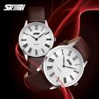 Skmei Ультра-тонкий Корпус Моды Lover Наручные Часы Высокое Качество Кварцевые Часы Мужчин И Женщин Часы Пару часов