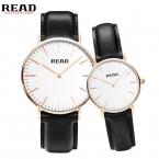ЧИТАТЬ мужские мужские часы простой пара часы ультратонкий кварцевые часы R2020