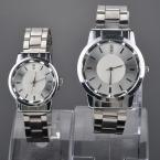 Luxury Brand Часы для Женщин Человек Кварцевые Наручные Часы Из Нержавеющей Стали Пара Влюбленных \ 'случайные часы relógio