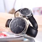 бренд AILUO моды водонепроницаемый любителей кожаные кварцевые часы мужчины люкс аналоговый пару часов женщины top brand повседневная часы